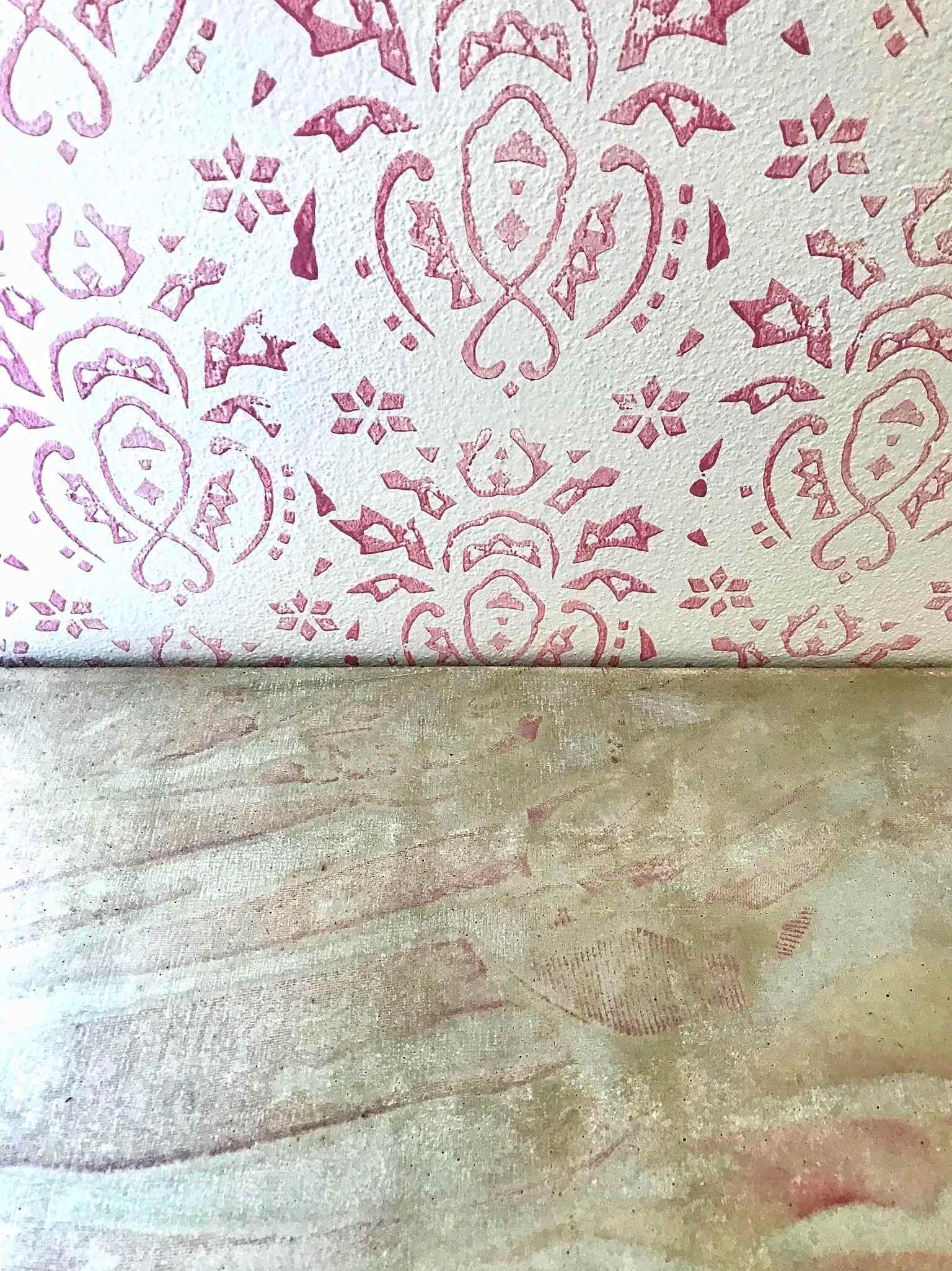 Pekárna Chleba se solí, Včelná - detail prodejního pultu z betonu. Autor: KURZ architekti