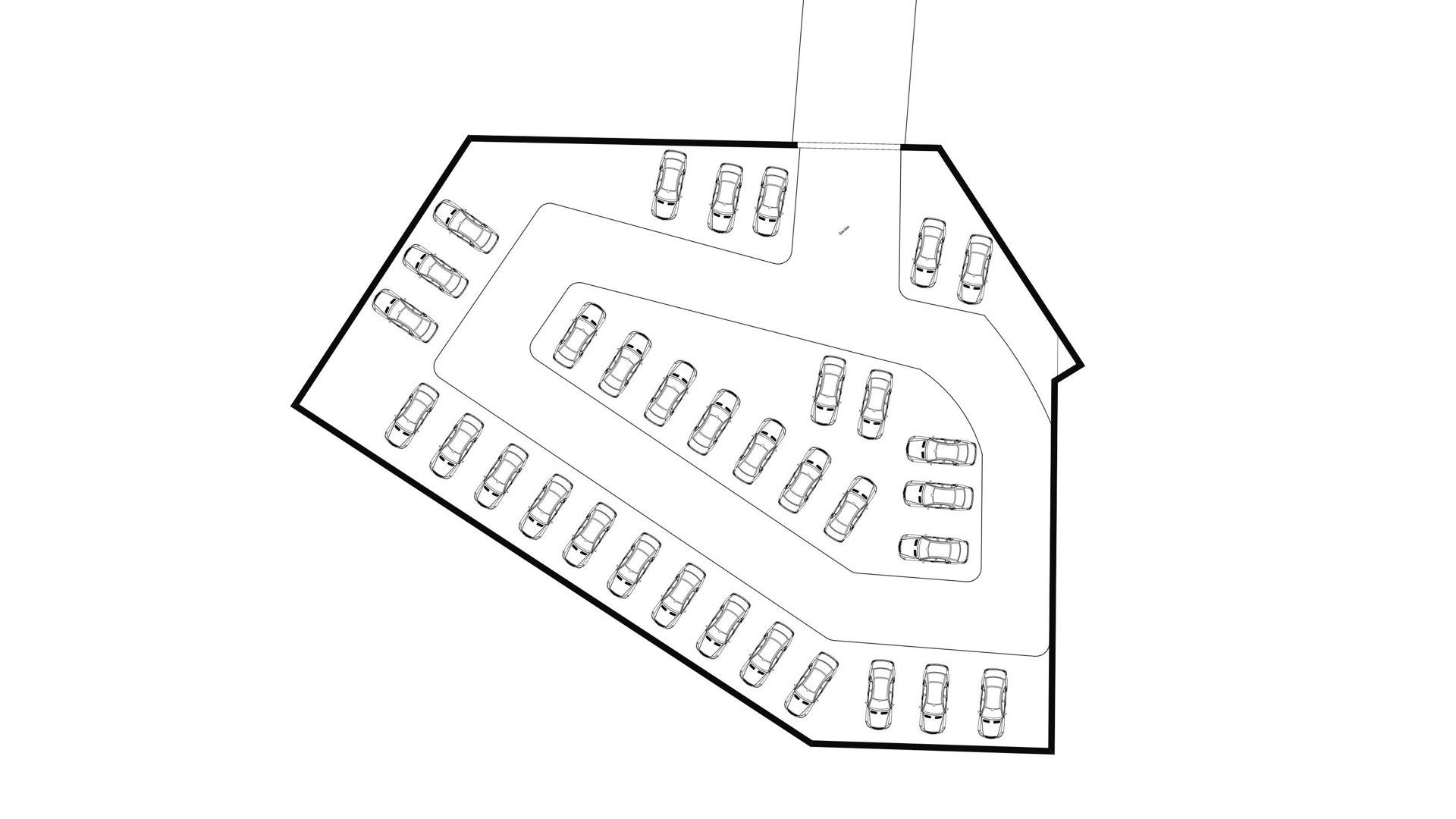 Rezidence Jenerálka KKCG - půdorys sportovního komplexu - 1.PP. Autor: Kurz architekti